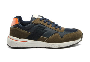 SNEAKERS FRAU 0401 MILITARY BLU LINEA SNEAKERS FX