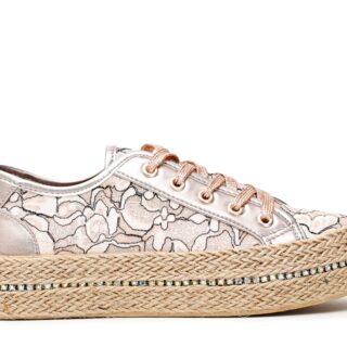 Sneakers Donna Con Fondo In Corda