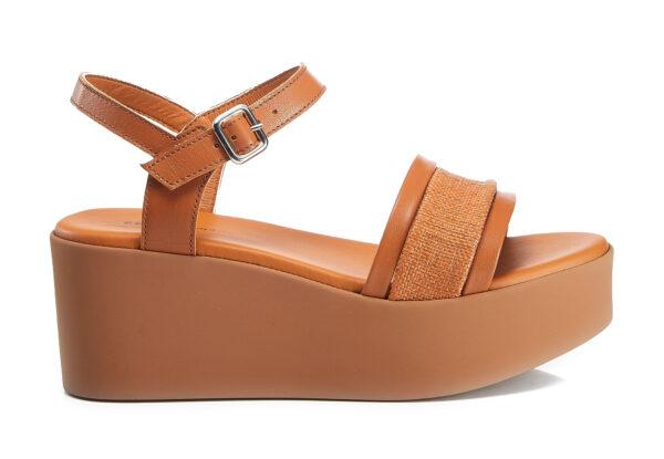 Sandalo Donna Con Zeppa